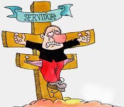 servidor crucificado
